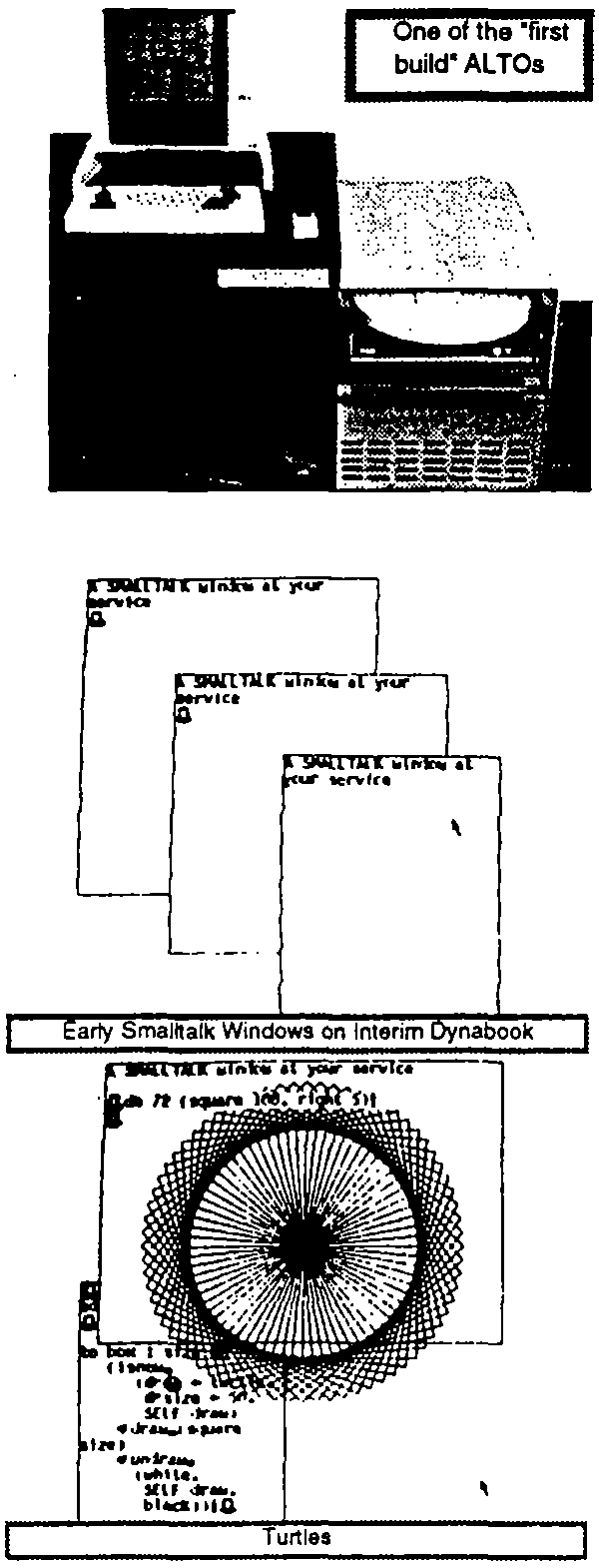 Development Of The Smalltalk 72 System And Applications