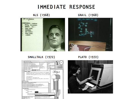 Slide from the future of programming